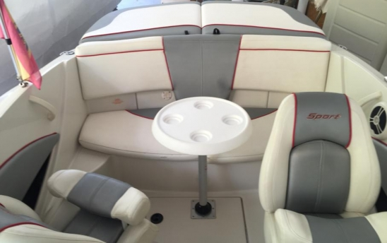 Used boat with brand SEA RAY